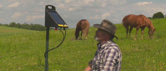 Solar Powered Fence Kit
