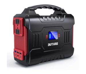 BUTURE 266Wh Solar Outdoor Generator
