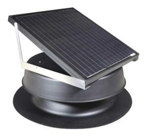 Natural Light 48-Watt Solar Power Attic Fan