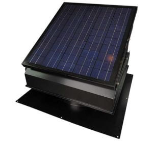 Remington 40-Watt Solar Attic Fan with Thermostat