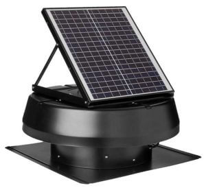 iLIVING HYBRID Ready Smart Solar Roof Attic Exhaust Fan