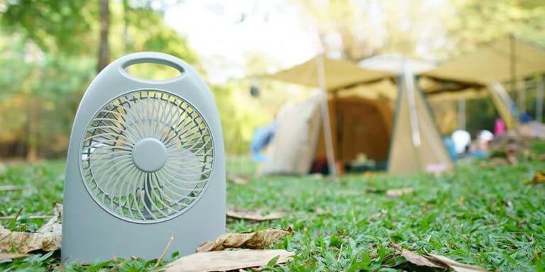 Best Solar Power Fans for Camping