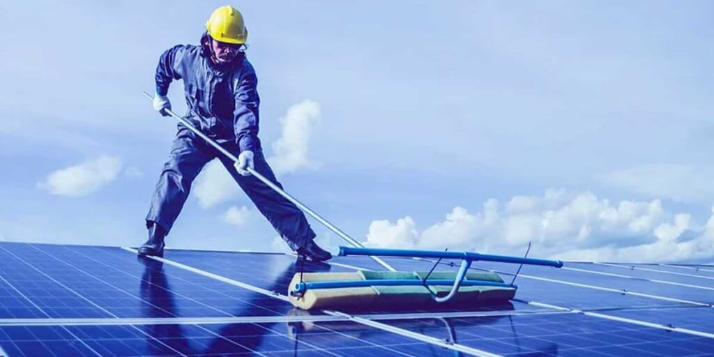 Ensure The Solar Panel Is Clean