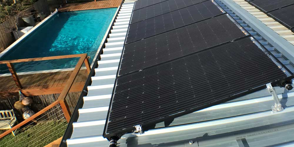 Roof Space for Solar Pool Heater